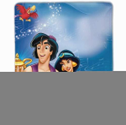 DJNGN Alfombrilla de ratón con lámpara de Aladdin, Alfombrilla de ratón para Juegos con Base de Goma Antideslizante y Borde de Bloqueo de 9,8 'x 11,8'