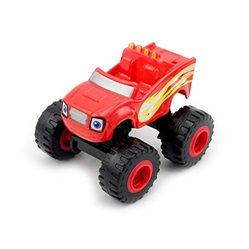 Coche de Juguete Blaze and The Monster Machines Coches Juguetes Vehículos Fricción Transformación Juguetes Regalos para Niños- 6 Paquete