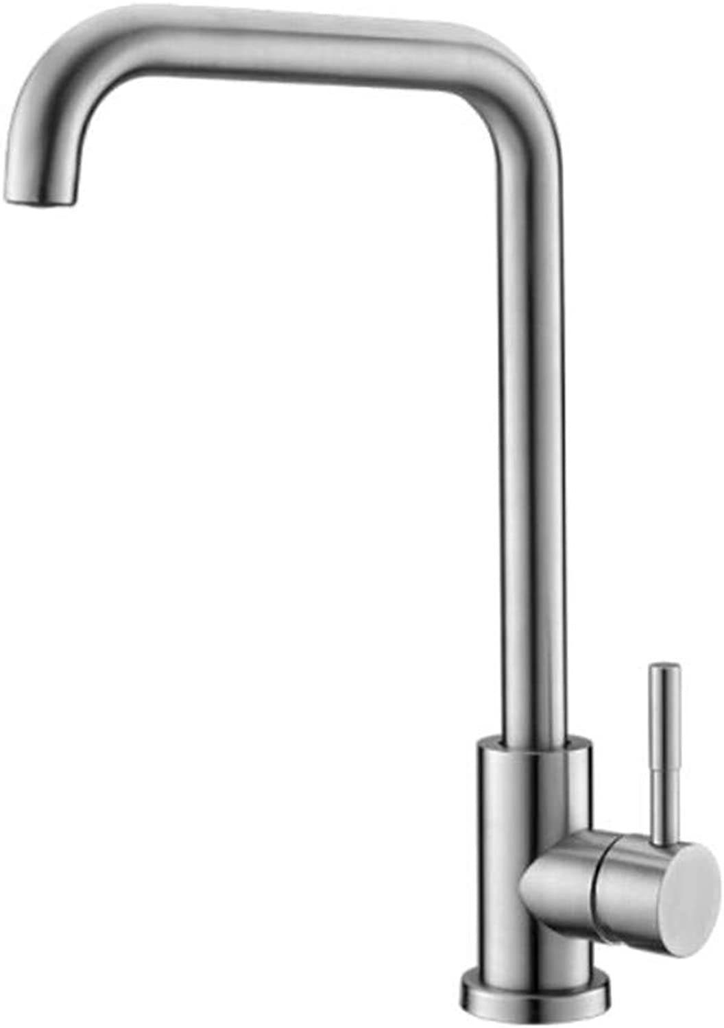 Faucet Waste Mono Spoutstainless Steel Kitchen Faucet Sink Dishwasher Can redate Hot and Cold Faucet