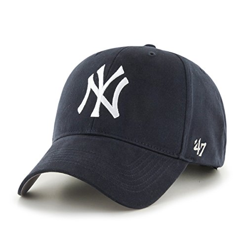 '47 MLB New York Yankees Toddler Basic MVP Adjustable Hat, Home Color