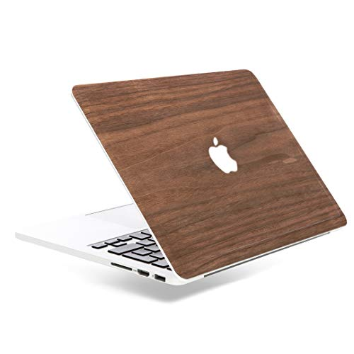 Woodcessories - Skin kompatibel mit MacBook 13 Pro Retina aus Holz - EcoSkin (Walnuss)
