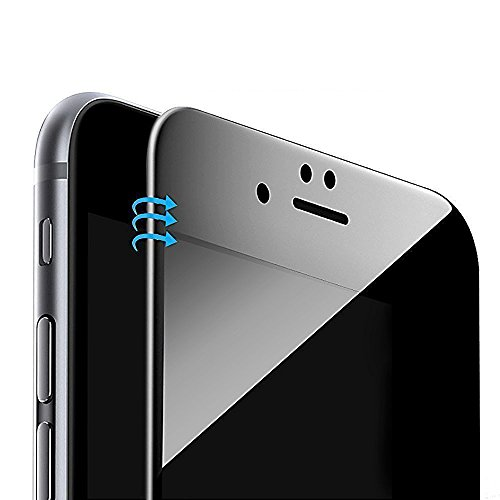 Vintar 3D Full Coverage Privacy Screen Protector Compatible iPhone 8 / iPhone 7, 9H Anti-Spy Tempered Glass Screen Protector.