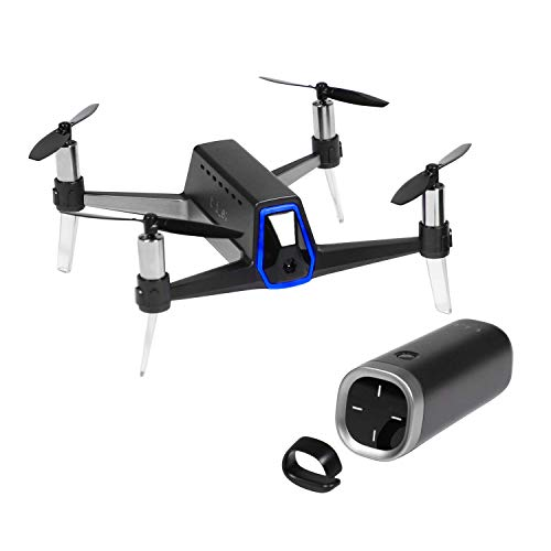 SHIFT RED Drone HI-LITE PKG - Easy & Free Flight with 3D-Sensing Controller, Autonomous Follow me, Stable Hovering, FHD Camera for Kid & Adult, One-Click sharing to social media, 4 LV speed modes