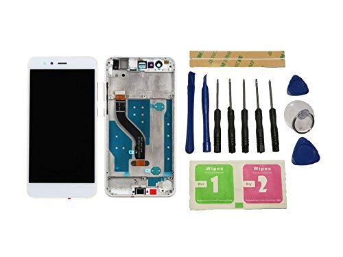 Vleugels voor Huawei P10 Lite Display LCD Vervangende display Wit Touchscreen Digitizer scherm Glas Compleet met frame onderdelen & gereedschappen & lijm