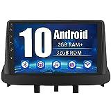 AWESAFE Android 10.0 [2GB+32GB] 9 Pulgadas Radio Coche para Renault Megane 2008-2014, Pantalla Táctil con Bluetooth/WiFi/GPS/DSP/RDS/USB/FM Am/RCA, Apoyo Mandos del Volante, Aparcamiento, Mirror Link