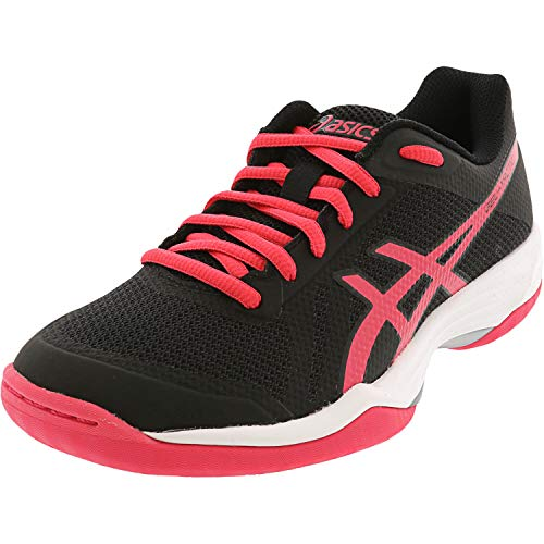ASICS Women's Gel-Tactic 2 Volleyball Shoes, 11M, Black/Pixel Pink