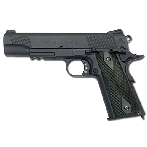 CYBERGUN PISTOLA COLT 1911 FULL METAL SCARRELLANTE SOFTAIR (NERA)