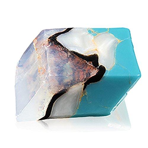 Savons Gemme サボンジェム 世界で一番美しい宝石石鹸 フレグランス ソープ ターコイズ 170g