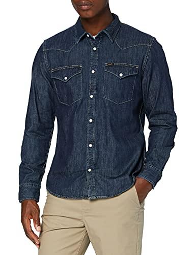 Lee Western Shirt Camisa, Blueprint...