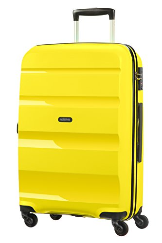 American Tourister Bon Air Spinner Suitcase, 66 cm, 58 L, Gelb (Solar Yellow)