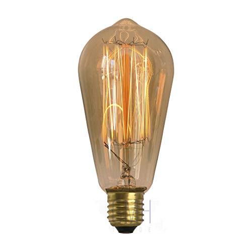 Lâmpada Filamento de Carbono ST58 40W - 110V