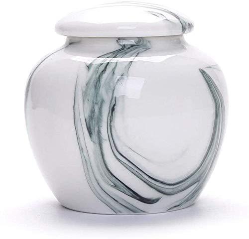 SDKFJ Urna de cremación para Mascotas para Cenizas Urnas funerarias pequeñas para Cenizas, urna...