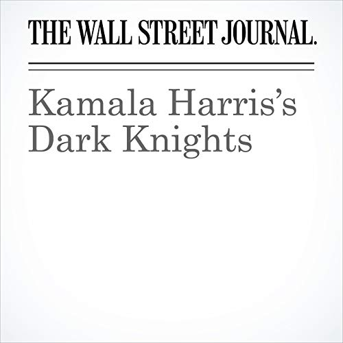 Kamala Harris's Dark Knights audiobook cover art