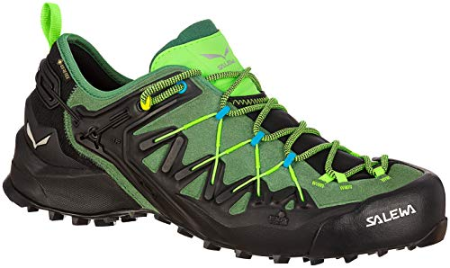 Salewa Herren Wildfire Edge GTX Schuhe, Myrtle-Fluo Green, UK 12