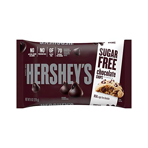 HERSHEY'S Sugar Free Chocolate Chips (8-Ounce Bag)