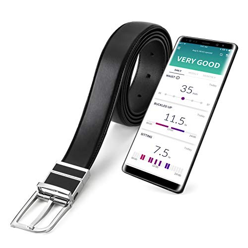WELT Smart Belt, Compatible with iOS and Android, Adjustable...
