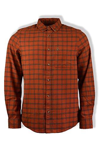 Photo of FJALLRAVEN Men's Övik Flannel Shirt M, brown, XS