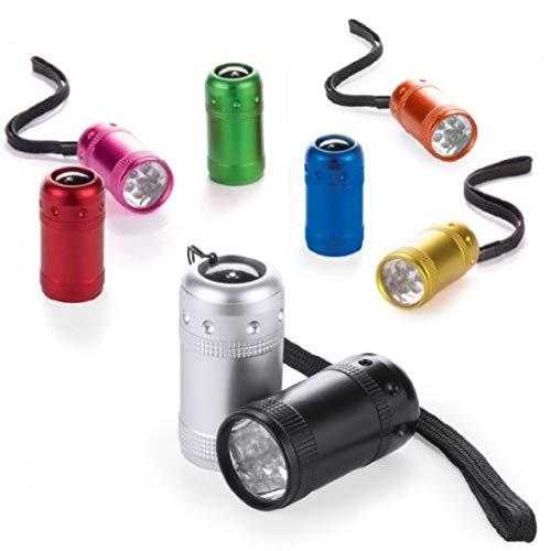 Lote de 20 Linternas 6 LED - Linternas con LED potentes baratas,...