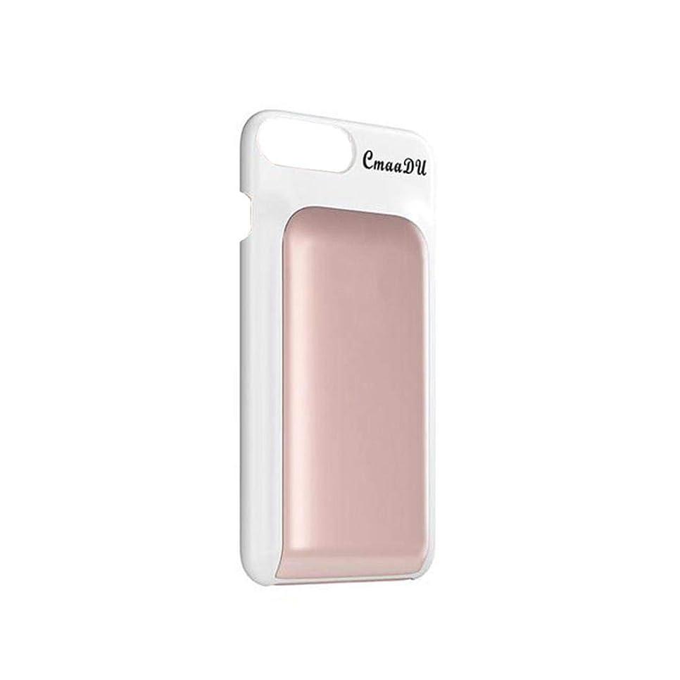 実際に財団貴重なLZE 口紅コンシーラーとグロークリームで隠された化粧品化粧品付き携帯電話ケース(C)