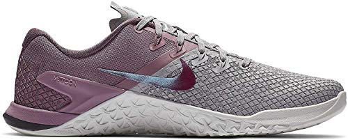 Nike Women's Metcon 4 XD Training Shoe Atmosphere Grey/True Berry/Plum Dust Size 7.5 M US