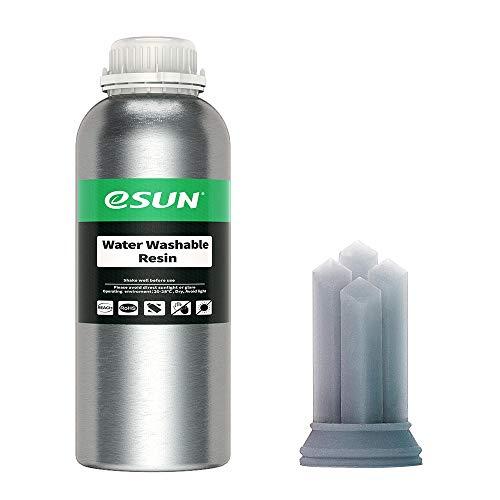 eSUN Resina Lavable con Agua UV 405nm Resina Estándar Rápida para Impresora 3D LCD Curado UV...
