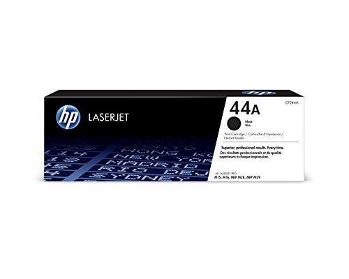 HP 44A CF244A, Negro, Cartucho Tóner Original, de 1.000 páginas, para impresoras HP LaserJet Pro M15a, M15w, MFP M28a y MFP M28w 🔥