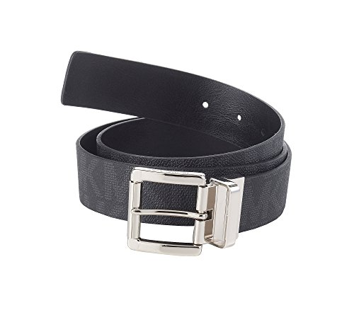 MICHAEL Michael Kors Logo Reversible Belt Black L