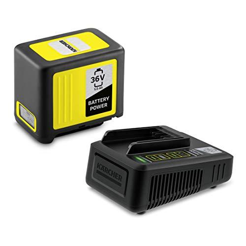 Kärcher 2.445-065.0 Akku-Set Power 36V / 5Ah + Schnellladegerät Sonderangebot schwarz, gelb