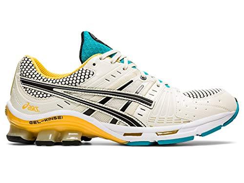 ASICS Men's Gel-Kinsei OG Running Shoes, 9M, Cream/Black