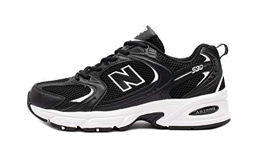 New Balance Jungen MR530SD Trailrunning-Schuh, Blanco Negro, 32 EU