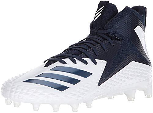 adidas Freak X Carbon Mid Cleat Men's Football 4.5 White-Collegiate Navy-Collegiate Navy