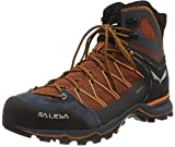 Salewa Herren MS Mountain Trainer Lite Mid Gore-TEX Trekking-& Wanderstiefel, Black Out/Carrot, 44 EU