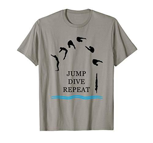 Buceo con trampolín Camiseta