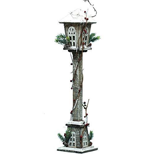 XIAOYUB Decorazioni Natalizie, Lampioni Luminosi In Legno, Grandi Ornamenti, Layout Di Scena Di Decorazione Di Un Centro Commerciale Dell'Hotel