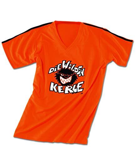 Die Wilden Kerle Kinder Trikot Logo, orange, 140, 3500-022