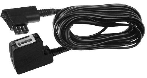 Vivanco 4 adrige Telefonverlängerungskabel 10 m (TAE-F Stecker - TEA-F Kupplung) schwarz