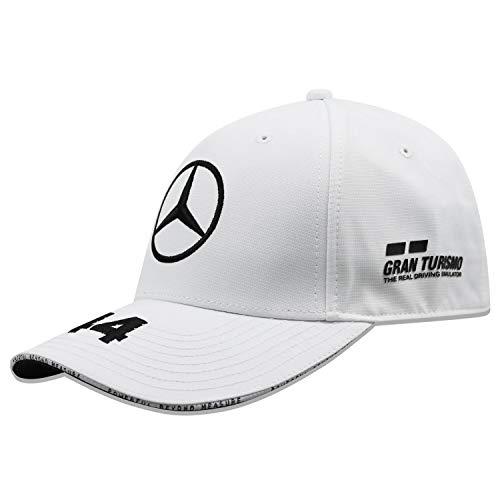 Mercedes-AMG Petronas Motorsport 2019 F1™ für Kinder. Lewis-Hamilton-Kappe – Weiß