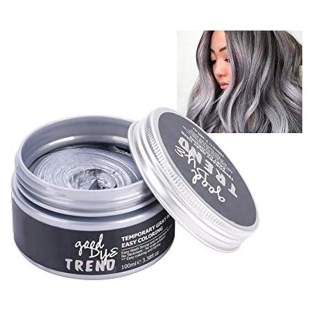 100 ml de cera para teñir el cabello - Cera para teñir temporalmente, tinte para el cabello Cera natural - Peinado del color del cabello Cera de ...