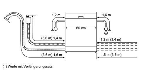 Siemens SN45M539EU Unterbau Spülmaschine - 6
