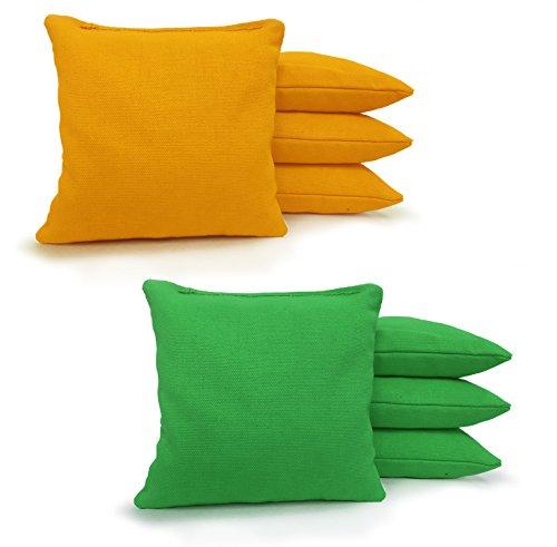 Johnson Enterprises, LLC Regulation Cornhole Bags 17 Colors Handmade (Set of 8)