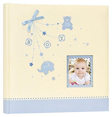 Zep as242420b Collectie Baby Alison Traditioneel Fotoalbum 40 Pagina's met 24 x 24 cm