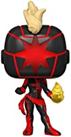 Funko Pop! Marvel: Dark Captain Marvel, Summer Convention Exclusive