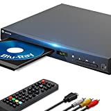 WONNIE Blu-Ray DVD Player for TV, HD 1080P Players with...