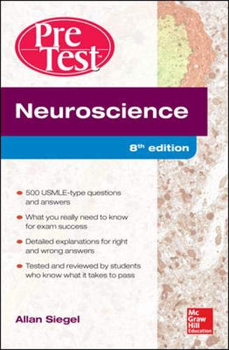 Download Neuroscience Pretest Self-Assessment and Review, 8th Edition 0071791078