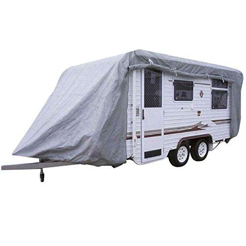 Beschermhoes voor caravans maat S (A= 4 m) 4 x 2,30 x 2 m