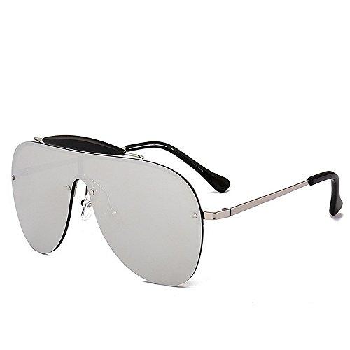 Belleashy Gafas de sol para mujer vintage de gran tamaño, polarizadas 100% protección UV, para conducir, ciclismo, correr, pesca, golf, uso diario (color: C2)