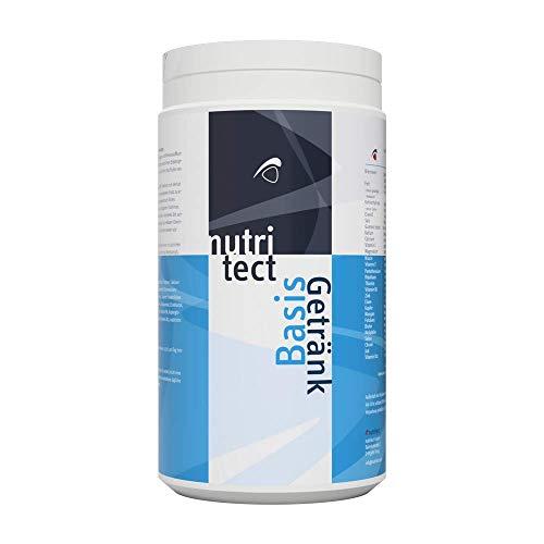 nutritect BasisGetränk - Isotonisches Sportgetränk mit Elektrolyten, Vitaminen und Energie aus Guarana und Maltodextrin - 1000g