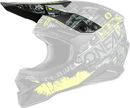 O'NEAL 3 Series Ride Visor Helm Blende Schirm schwarz/gelb Oneal
