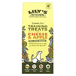 Lilys Kitchen Training Treats For Dogs Cheese & Apple 100g