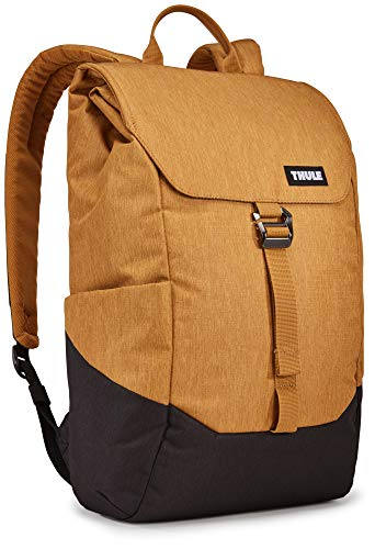 Thule 16 Litre Lithos Backpack with 15 Inch Laptop Slot, Woodthrush